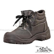 """Ботинки рабочие с металлоподноском и антипрокольной металлической стелькой """"МАСТЕР"""" стандарт защиты S1P EN-345 (EN ISO 20345)"""