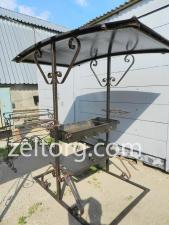 Мангал с крышей М2