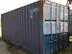 контейнер морской 20 фут box