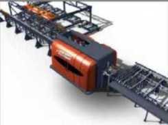 Линии производства домов (срубов) из бруса/бревна - обрабатывыющий центр-чашкорез с ЧПУ
