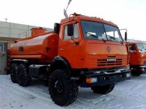Камаз 43118 топливозаправщик-бензовоз вездеход новый
