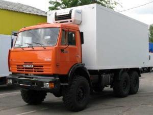 Камаз 43118 фургон изотермический новый