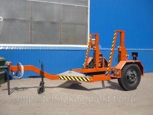 Кабельный транспортер К-4/(Прицеп специальный для перевозки кабеля 898202 (К-4)