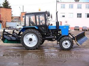 Трактор уборочный на базе МТЗ 82.1 (МУП-351. ДТ)