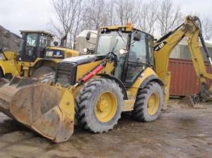Экскаватор-погрузчик CAT 444 E