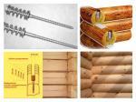 Пружинный узел (сила пружины -150 кгc) компенсатор усадки сруба - болт