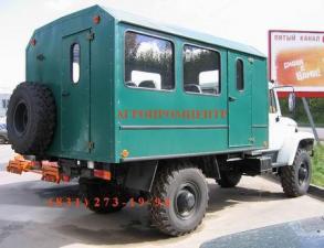 Автобус вахтовый ГАЗ-3308