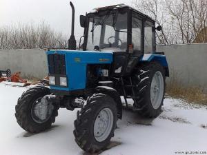 Трактор Беларус 82.1, 81.1-23/12, 1221.2 (пр-ва МТЗ-ЕлАЗ, РУП МТЗ)