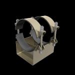 опоры для крепления труб из углеродистой и низколегированной стали при строительстве технологических трубопроводов