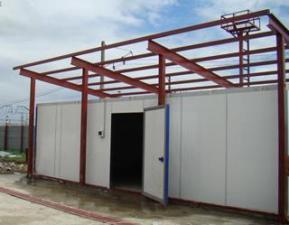 Строительство и отделка торговых и офисных зданий