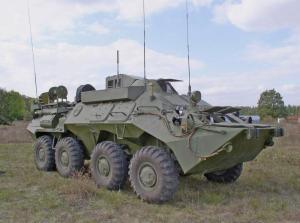 БТР-80 Унифицированная командно-штабная машина