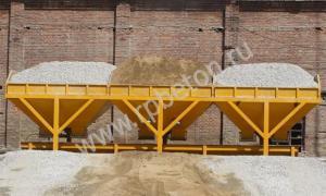 Стационарный бетонный завод HZS 40