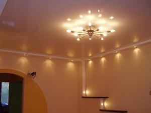 Установка подвесных светильников Брест