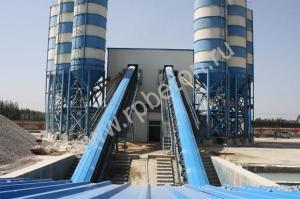 Ленточные бетонные заводы от 60 до 180 м3/час