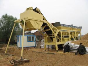 Грунтостабилизирующий завод 120 т/ч мобильный