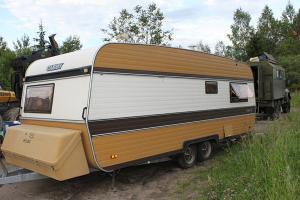 Дом-вагон передвижной, бытовка Cabby Deluxe 582