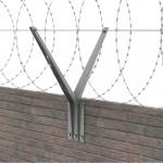 КЗР для бетонных или кирпичных заграждений