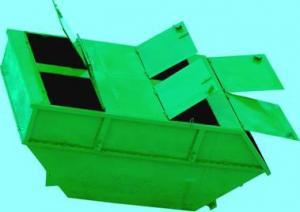 Бункер-накопитель БН-8 с открывающимися крышками (для мусора/отходов; V=8 куб.м.)