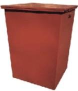 Контейнер мусорный для ТБО с крышкой