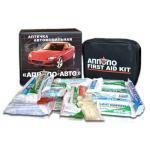 Автомобильная аптечка нового образца «АППОЛО-АВТО» (мягкий футляр)
