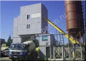 Бетонный завод HZS 120D