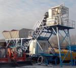 Буксируемый мобильный бетонный завод YHZS 50