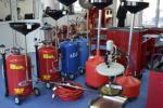 Установка маслосборная REMAX V-2097 с предкамерой, бак 70л, воронка, щупы