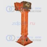 Опорное устройство полуприцепа МАЗ правое с редуктором (под пневмоподвеску) 9397-2700036-05