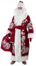 Костюм Деда Мороза (бархат с вышивкой) Lanta Н28-БВК