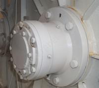 Узел герметизации вала двухвального бетоносмесителя JS500