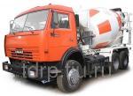 Автобетоносмеситель КАМАЗ - 9 м3