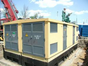 Блочная комплектная трансформаторная подстанция БКТП