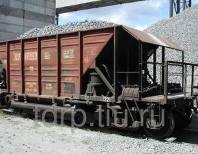 Доставка гравийного щебня жд вагонами по России