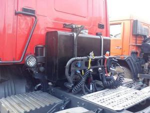 Гидрофикация тягачей и самосвалов. Установка ТСУ