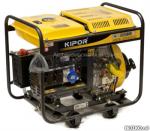 Электростанция дизельная генератор KIPOR KDE 6500 E