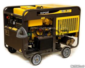Электростанция дизельная генератор KIPOR KDE19EA