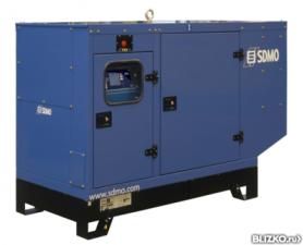 Дизельный генератор электростанция SDMO Montana J77,56 кВт(Франц) №1 в мире