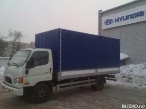 Hyundai фургон HD-78 борт-6,2м.,тент.