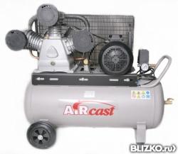 Поршневой компрессор 740 л/м 100 л/ресивер 10атм