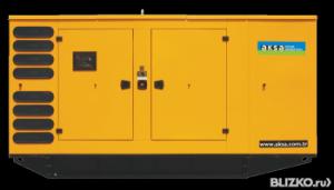 Дизельная электростанция генератор 340 кВт AKSA AD 490