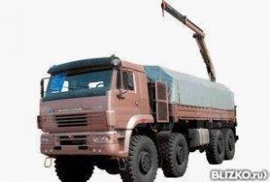 Кран-манипулятор КамАЗ 6560