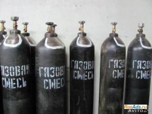 Баллон газовая смесь К-18 новый