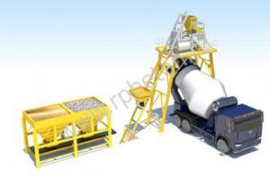 Бетонный завод, производительностью 10 м3 в час