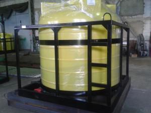 """Емкость для транспортировки воды и других с/х растворов """"Кассета 5000х1 S"""""""