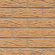 Плитка клинкерная фасадная Охра накат Скала