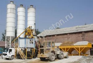 Стационарный бетонный завод HZS 50