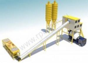 Ленточный бетонный завод GiTech 120