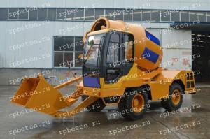 Самоходный бетоносмеситель с самозагрузкой - GM150A