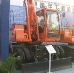 Экскаватор колесный Zhenyu ZYL160
