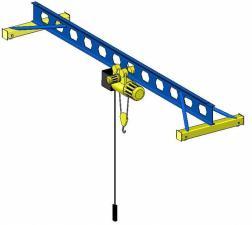 Кран-балка опорная, подвесная и консольный кран